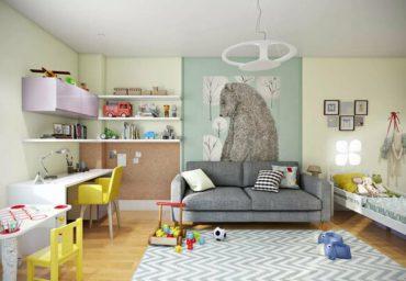 Какие элементы интерьера нужно купить в детскую комнату?